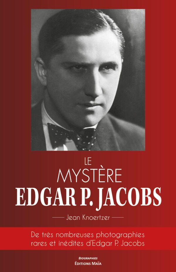 Le mystère Edgar P. Jacobs - couverture