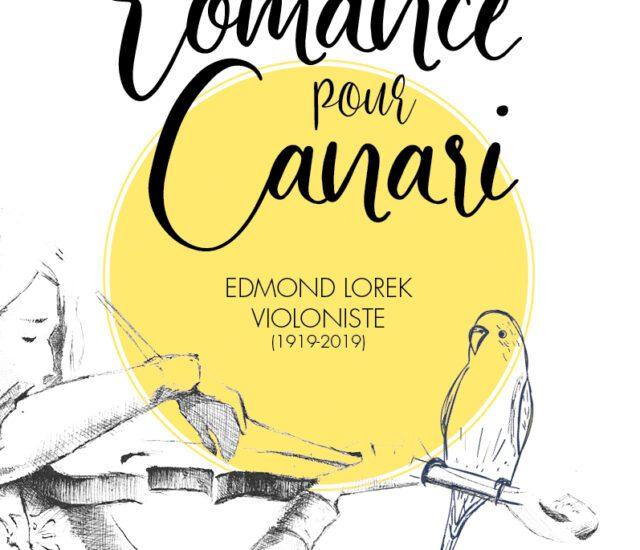 Entretien avec Mickaël Roussel – La romance pour canari, Edmond Lorek Violoniste